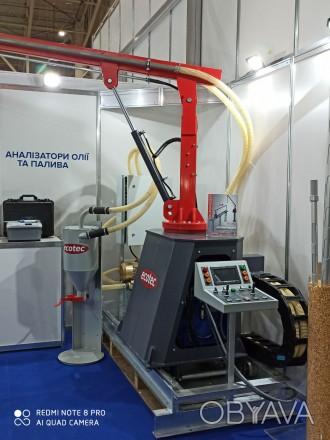 Автоматический пробоотборник зерна на рельсе Ecotec Rail