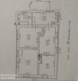 Продаж будинку на посьолку, загальна площа будинку- 60м.кв жілая- 46м.кв., будин. Белая Церковь, Киевская область. фото 4