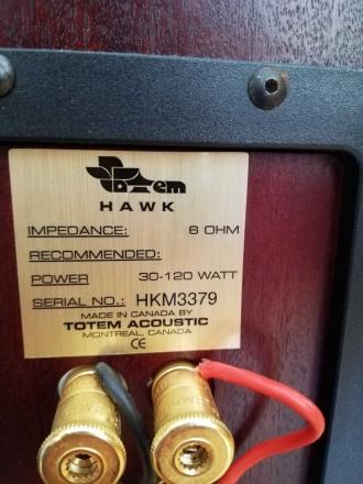 Totem Acoustic HAWK Hi-End класс. Канада. Цена ритейл - 4600$ (продаются и сейч. Черновцы, Черновицкая область. фото 7