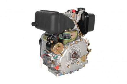 Двигатель дизельный GrunWelt GW178F (вал под шлицы, ручной старт) Дизельный двиг. Киев, Киевская область. фото 6