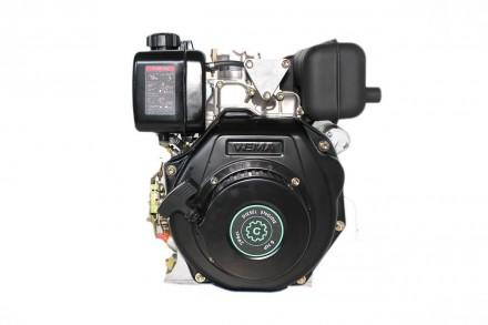 Двигатель дизельный GrunWelt GW178F (вал под шлицы, ручной старт) Дизельный двиг. Киев, Киевская область. фото 8