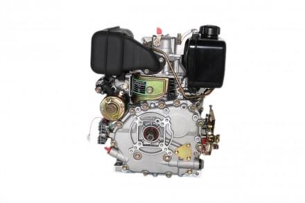 Двигатель дизельный GrunWelt GW178F (вал под шлицы, ручной старт) Дизельный двиг. Киев, Киевская область. фото 5