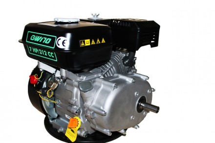 Двигатель бензиновый GrunWelt GW170F-S (CL) (центробежное сцепление, шпонка, вал. Киев, Киевская область. фото 4