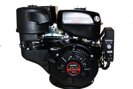 Двигатель бензиновый Weima WM190FE-S (CL) ( центробежное сцепление, шпонка 25 мм. Киев, Киевская область. фото 2