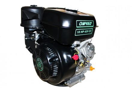 Двигатель бензиновый GrunWelt GW460F-S (CL) (центробежное сцепление, шпонка, 18 . Киев, Киевская область. фото 2