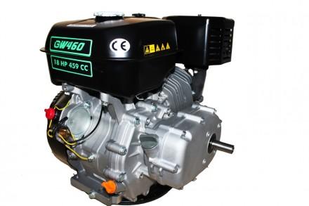 Двигатель бензиновый GrunWelt GW460F-S (CL) (центробежное сцепление, шпонка, 18 . Киев, Киевская область. фото 5