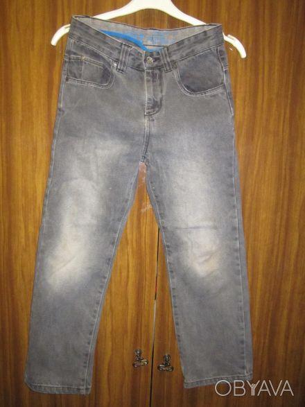 Брюки и джинсы на мальчика 5-8 лет, длина от 75 см, талия - 56 см, в хорошем сос. Харків, Харківська область. фото 1