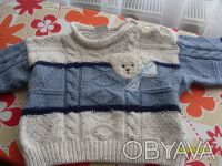 Тёплый свитерок на 1 - 2 года!. Изюм. фото 1