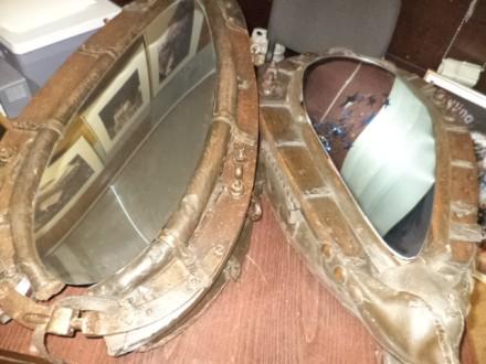 В продаже  Зеркала в хомутах  в хорошем  состоянии  б у. Киев, Киевская область. фото 4
