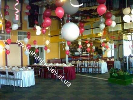 Предлагаем вашему вниманию оформление воздушными шарами на свадьбы, дни рождения. Киев, Киевская область. фото 3