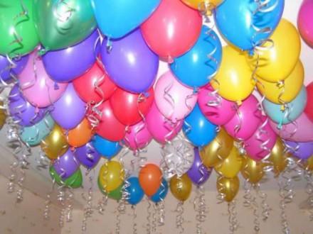 Воздушные шары (Киев) заказ шаров Киев, доставка шаров Киев, шарики с гелием. Киев. фото 1