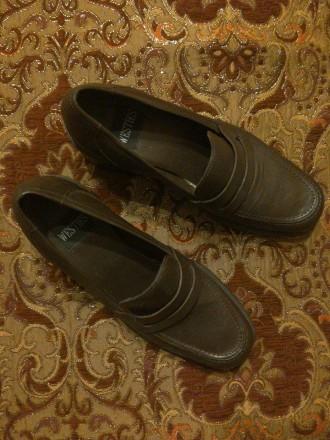 Шкіряне взуття. Довжина устілки 25 см. Бразилія, Привезені зі США. Львов, Львовская область. фото 2