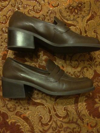 Шкіряне взуття. Довжина устілки 25 см. Бразилія, Привезені зі США. Львов, Львовская область. фото 4