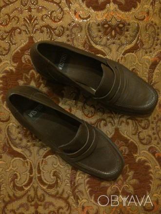 Шкіряне взуття. Довжина устілки 25 см. Бразилія, Привезені зі США. Львов, Львовская область. фото 1