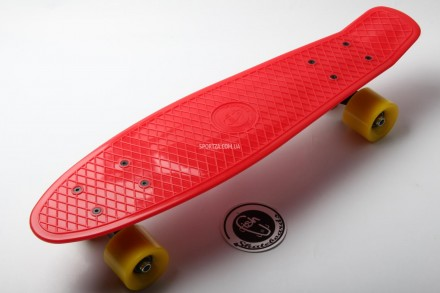 Fish Skateboard Original 22 Красный Желтые Колеса. Киев. фото 1