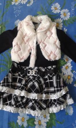 платье теплое нарядное. Павлоград. фото 1