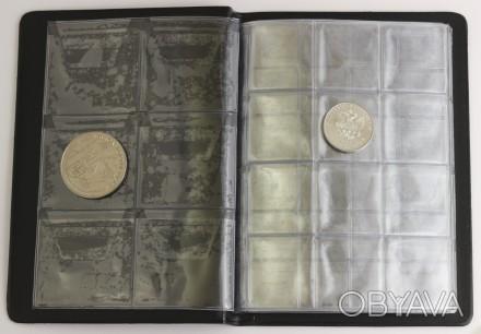 Альбом для монет 48, 96, 192 ячеек Schulz, Midi Manufactura
