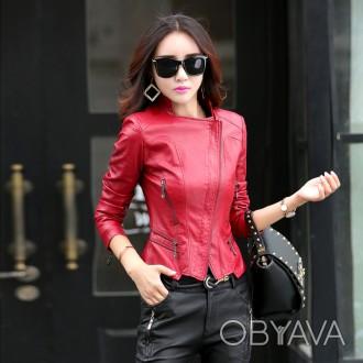 ᐈ Жіноча шкіряна куртка e0d1c4a14defb