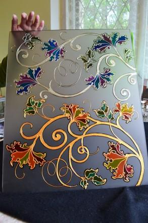 Мастер-класс витражной росписи.. Чернигов. фото 1