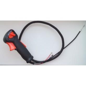 Ручка управления для мотокосы STIHL FS55 в комплекте. Буча. фото 1