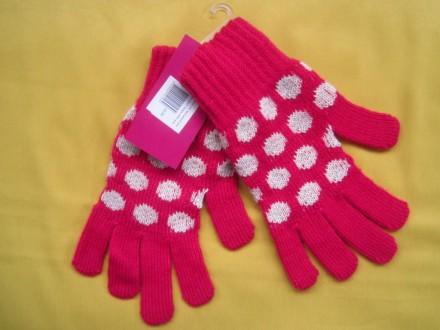 Яркие фирменные новые перчатки . Все замеры на фото. Без дефектов.. Пирятин, Полтавская область. фото 3