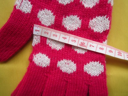 Яркие фирменные новые перчатки . Все замеры на фото. Без дефектов.. Пирятин, Полтавская область. фото 7