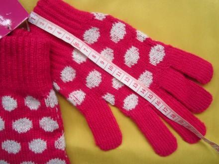 Яркие фирменные новые перчатки . Все замеры на фото. Без дефектов.. Пирятин, Полтавская область. фото 6