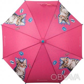 Зонтик Kite детский R20-2001 - новинка коллекции 2020 года. Зонтик-трость, полуа. Запорожье, Запорожская область. фото 1