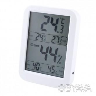 Термометр с гигрометром TH028 предназначен для измерения температуры и влажности. Киев, Киевская область. фото 1