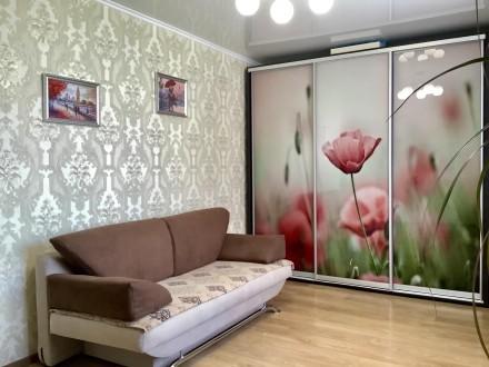 Продаём прекрасную 2х комнатную квартиру c Евро-ремонтом по ул. Интернационалис. 12-й микрорайон, Сумы, Сумская область. фото 9