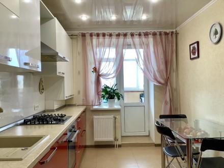 Продаём прекрасную 2х комнатную квартиру c Евро-ремонтом по ул. Интернационалис. 12-й микрорайон, Сумы, Сумская область. фото 4