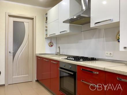 Продаём прекрасную 2х комнатную квартиру c Евро-ремонтом по ул. Интернационалис. 12-й микрорайон, Сумы, Сумская область. фото 1