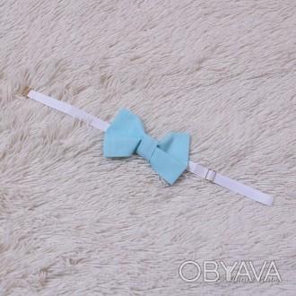 Бабочка синяя Универсальная по размеру Бабочка галстук будет отличным украшением. Маріуполь, Донецкая область. фото 1