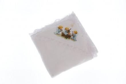 Крыжма с ангелочками. Производитель Турция. Размер 105*95 см Крыжма или крестиль. Мариуполь, Донецкая область. фото 2