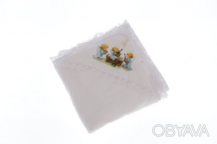 Крыжма с ангелочками. Производитель Турция. Размер 105*95 см Крыжма или крестиль. Мариуполь, Донецкая область. фото 1