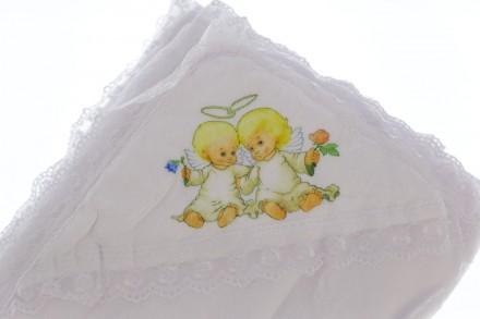 Крыжма Ангелы. Производитель Турция. Размер 105*95 см Крыжма или крестильное пол. Мариуполь, Донецкая область. фото 3