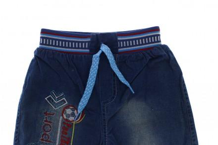 Шорты джинсовые Sport. Производитель Турция. Джинсовые шорты для мальчика , пояс. Мариуполь, Донецкая область. фото 3