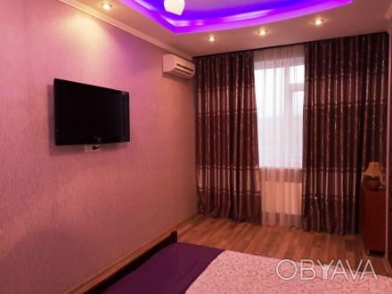 Сдам 1-комн.кв. 5 Жемчужина/Архитекторская, 46 кв.м, ремонт, укомплектована мебе. Таирова, Одесская область. фото 1