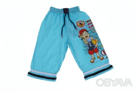 Бриджи Баскетбол. Производитель Турция. Прекрасные шорты для мальчика на резинке. Мариуполь, Донецкая область. фото 1