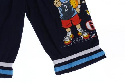 Бриджи Баскетбол. Производитель Турция. Прекрасные шорты для мальчика на резинке. Мариуполь, Донецкая область. фото 4
