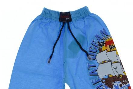 Бриджи Пират. Производитель Турция. Прекрасные шорты для мальчика на резинке.  К. Мариуполь, Донецкая область. фото 3