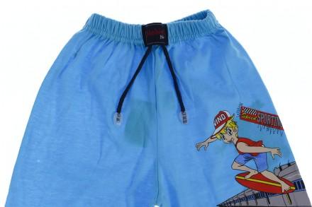 Бриджи Поезд. Производитель Турция. Прекрасные шорты для мальчика на резинке.  К. Мариуполь, Донецкая область. фото 3