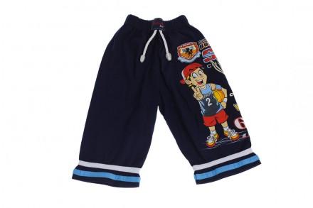 Бриджи Баскетбол. Производитель Турция. Прекрасные шорты для мальчика на резинке. Мариуполь, Донецкая область. фото 2