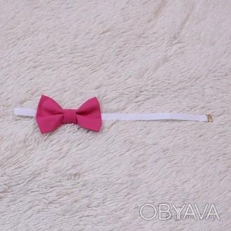 Бабочка галстук универсальная (малина) Универсальная по размеру Бабочка галстук . Мариуполь, Донецкая область. фото 1