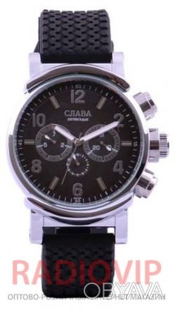 Механические наручные часы Слава 1003 GL имеют индивидуальный внешний вид и непо. Киев, Киевская область. фото 1