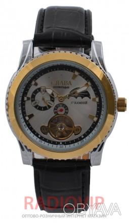 Механические наручные часы Слава 1011 GF имеют индивидуальный внешний вид и непо. Киев, Киевская область. фото 1