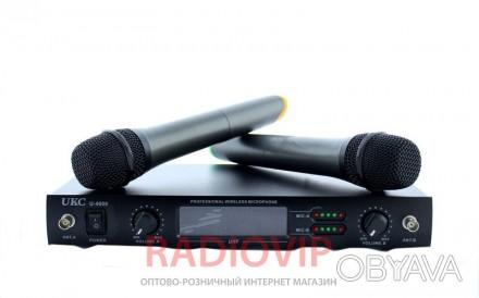 Радиомикрофон DM 4000 профессиональный подойдет для домашнего караоке, обеспечив. Киев, Киевская область. фото 1