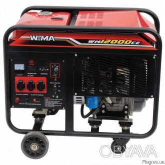Генератор дизельный WEIMA WM12000CE1 (12 кВт, 1 фаза...