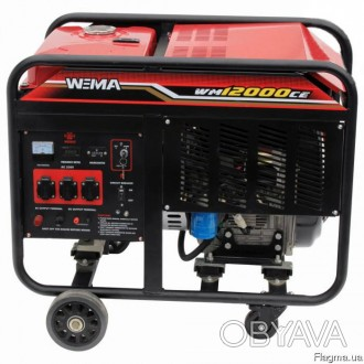 Генератор дизельный WEIMA WM12000CE3 (12 кВт, 3 фазы...