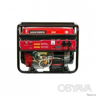 Генератор бензиновый WEIMA WM5500Е (5,5 кВт...